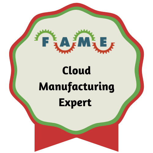 """Cloud Manufacturing Expert"" Badge"